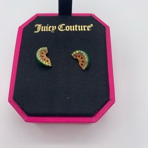 NWT Juicy Couture Watermelon  Stud Earrings
